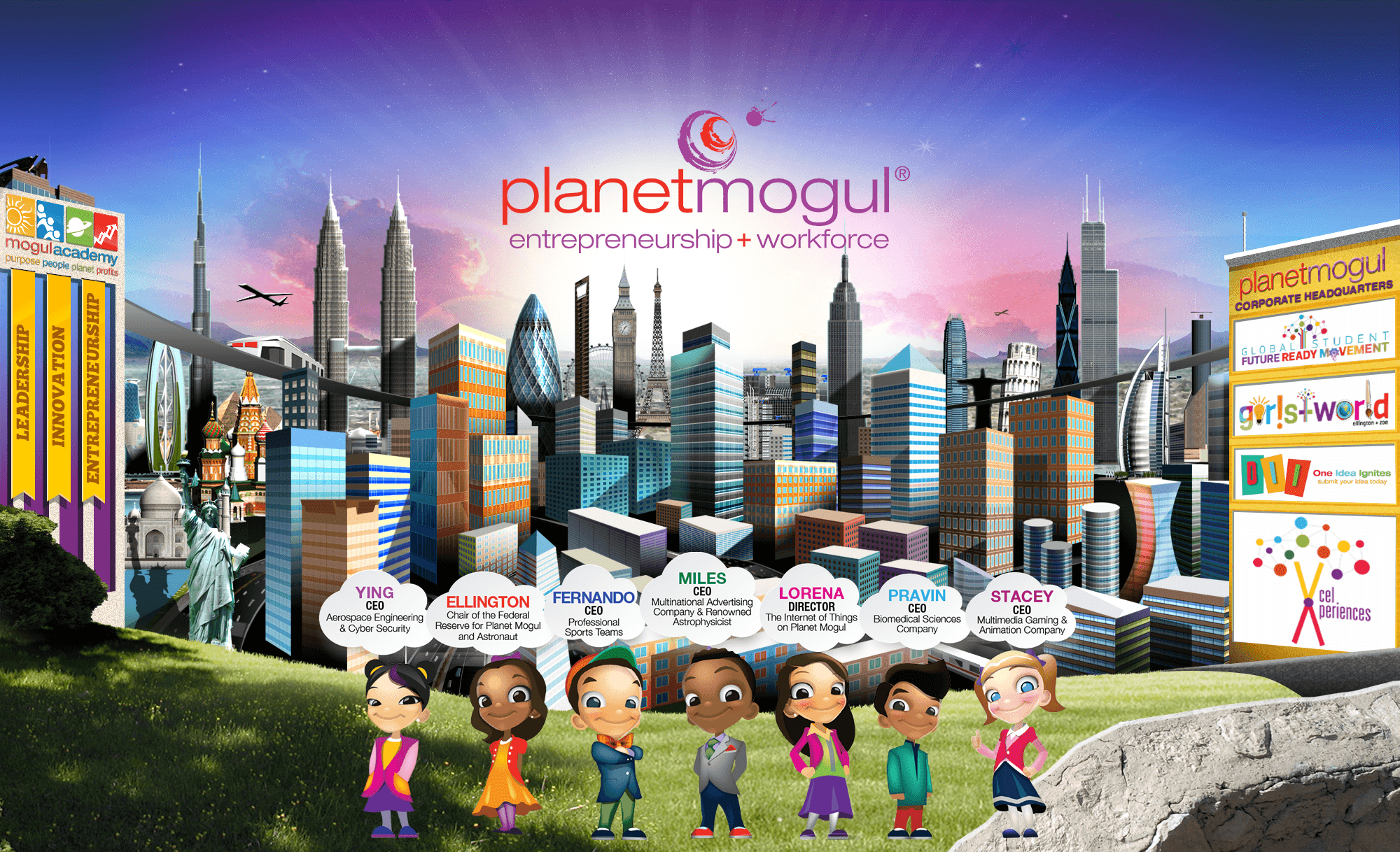 Click on the Button to visit Planet Mogul